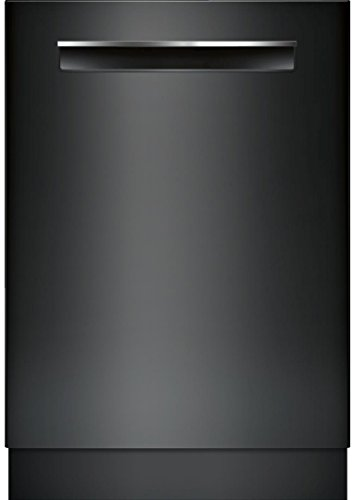 Bosch 800 Series 24 Inch Built In Fully Integrated Dishwasher with 6 Wash Cycles, 16 Place Settings, Soil Sensor, Energy Star Certified, RackMatic, Flexible 3rd Rack, Delay Start in Black by Bosch Products
