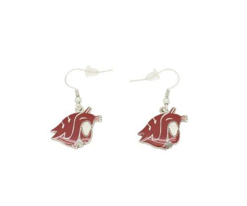 aminco NCAA Dangler Earrings, Washington State Cougars Ncaa Washington State Cougars Basketball