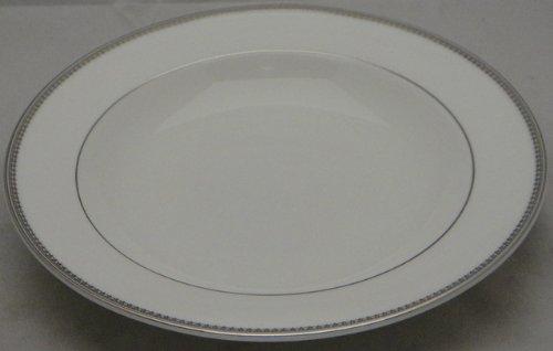 Vera Wang Vera Lace-Platinum Large Rim Soup Bowl (Vera Wang Platinum Bowls)