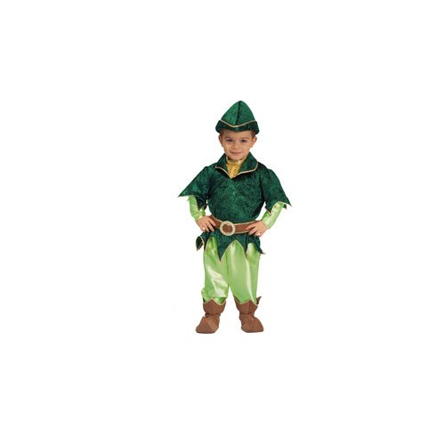 [Deluxe Peter Pan - Large 12-14] (Child Deluxe Peter Pan Costumes)