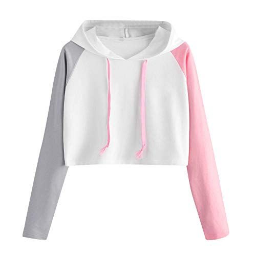 - Cute Womens Sweatshirt,KIKOY Girls Long Sleeve Hoodie Tops Pullover Blouse Sale