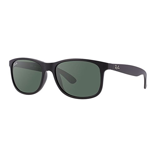 New Ray Ban Youngster RB4202 606971 Matte Black/Dark Green 55mm - Ban Youngster Ray Sunglasses