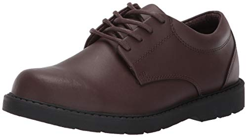 School Issue Scholar 5210 Uniform Shoe (Toddler/Little Kid/Big Kid),Brown Leather,6 M US Big Kid