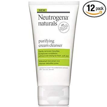 (Neutrogena Naturals Purifying Cream Cleanser, 5 Fluid Ounce - 12 per case.)