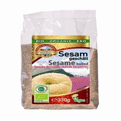 Pearls of Samarkand Organic Hulled Sesame Seeds 330g Pack Of 1