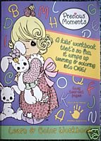 Precious Moments, Book 8111-1, Learn & Color Workbook, a Kids' Workbook That's so Fun, It Wraps up Learning & Coloring Into One!