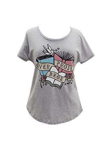 Womens Dark T-shirt Bro (Out of Print Prose Over Bros Dolman Shirt Medium)