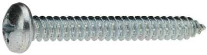 verzinkt farblos 50 St/ück Reidl Linsenkopf Blechschrauben 5,5 x 38 mm DIN 7981 Stahl galv