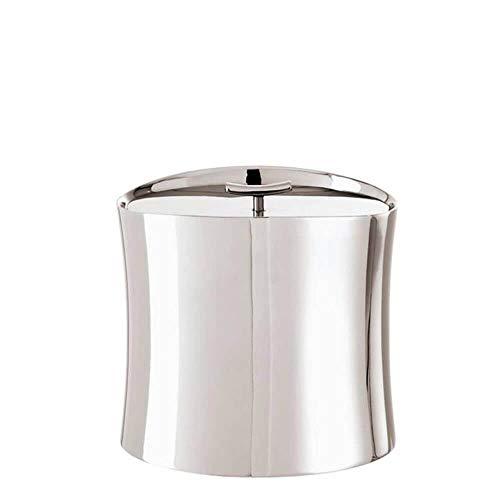 (Sambonet Bamboo Insulated Ice Bucket Holloware Stainless Steel - 5.6