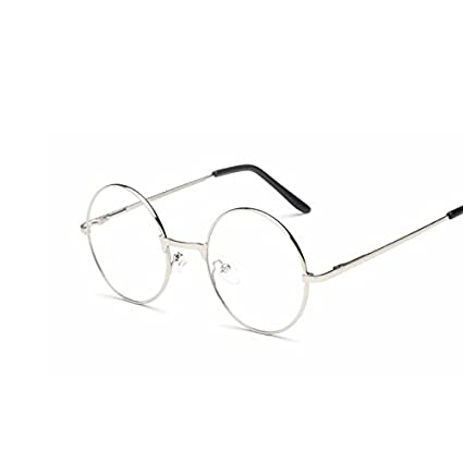 864962509a Amazon.com   Buildent(TM) Men women Round Sunglasses Retro Metal ...