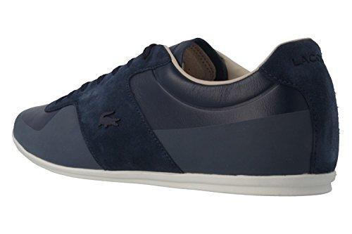 Lacoste , Chaussures de ville à lacets pour homme Bleu Bleu