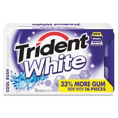 CDB6763800 - Trident Cool Rush White Sugar-Free Gum