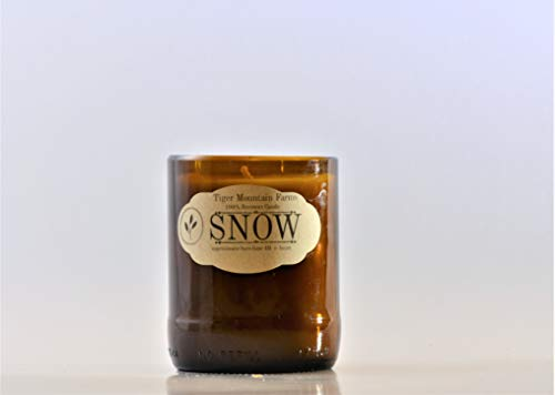Fresh Snow Soy Candle | Holiday Candle| Burn Time 30+ Hours