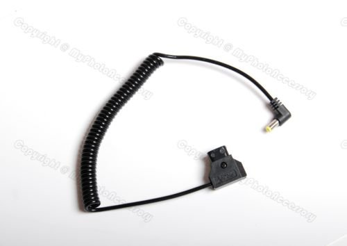 D-Tap Power Tap to DC Spring Power Cable 5.5mm/2.5mm for Photography BMCC by Ansso