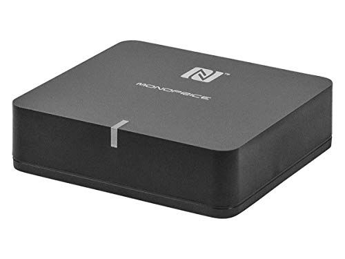 Monoprice Home Theater Music Receiver NFC and APTX Codec Support (110248)