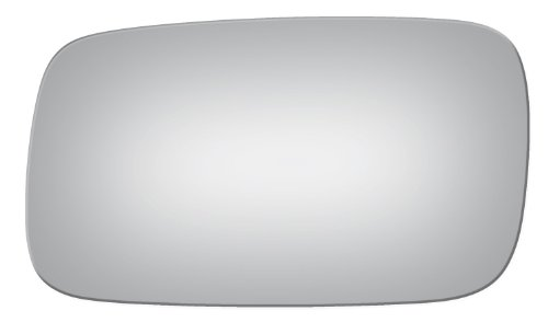 Flat Driver Left Side Replacement Mirror Glass for 1995-1998 Saab 900 ()