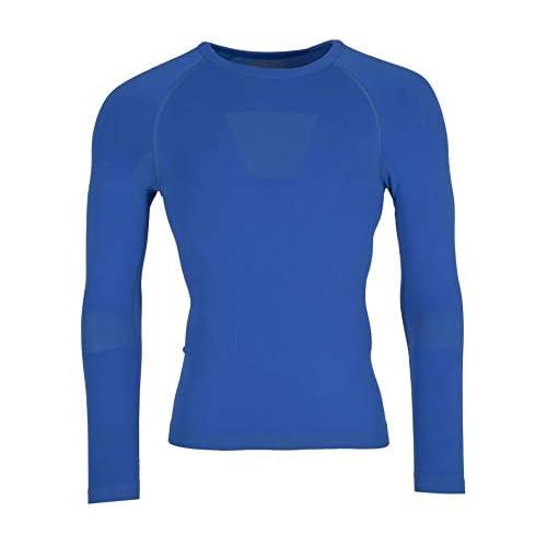 chollos oferta descuentos barato Ternua Enko Shirt Men Camiseta de Manga Larga Hombre Azul Faience S