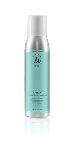 Leyla Milani Hair - Volumizing Dry Shampoo No White Residue, Light Clean Scent, Translucent, Invisible, Hair Care, Hair Protection, Quick Application - No H20 Dry Shampoo - msrp $23 by LEYLA MILANI HAIR