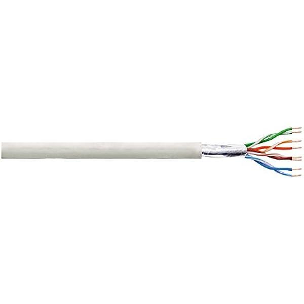 LogiLink Cat 5e Cable de instalación FTP, 50 m: Amazon.es ...