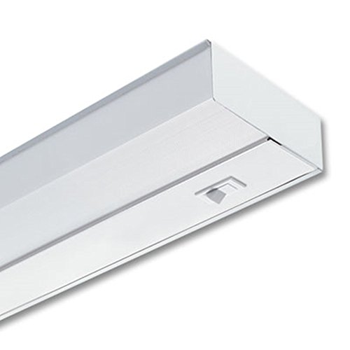 Lithonia Lighting UC 24E 120 SWR M6 2-Light 8W T5 Fluorescent Under Cabinet Light, 24-Inch - 2 Light Under Cabinet Fixture