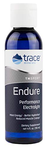 Trace Minerals Research , Endure, Performance Electrolyte, 4-Ounce Bottle Review
