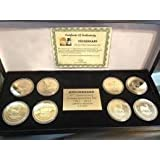 8pc Limited Edition Krugerrand Coin Collection 1967 - 2014