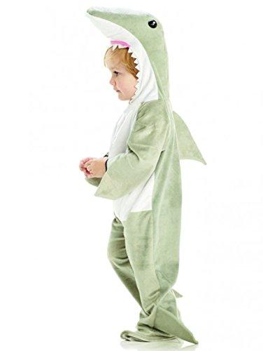 Underwraps Baby's Shark, Grey/White, Small -