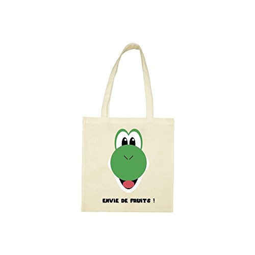 Tote beige bag envie de fruits qpCOX5wrp