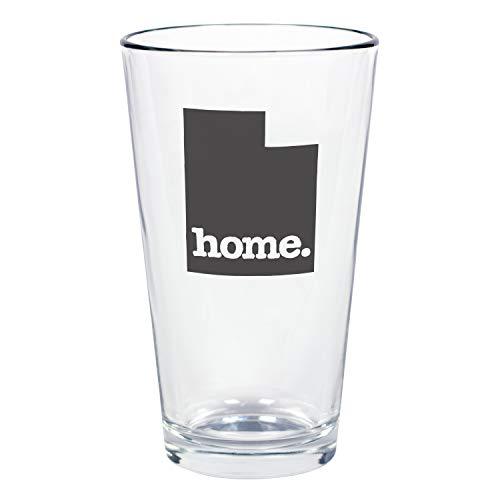 "Home State Apparel Set of 4 Utah""home."" Pint Glasses"