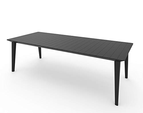 CAPALDO Allibert Mesa Lima Extensible 98 x 160/240 x 74h Graphite