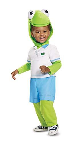 Disguise Kermit Infant Child Costume, Multi Color, (12-18 -