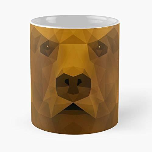 Wild Animal Low Poly Portrait - Best Gift Ceramic Coffee Mugs]()