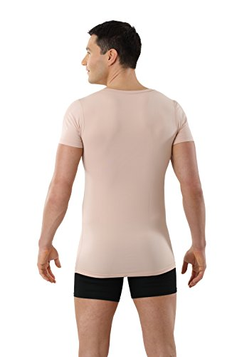 Albert Kreuz Deep-V Funktionsunterhemd Business Herrenunterhemd unsichtbar  aus Coolmax/Stretch-Baumwolle atmungsaktiv Sommer-Winter Klima-regulierend  ...