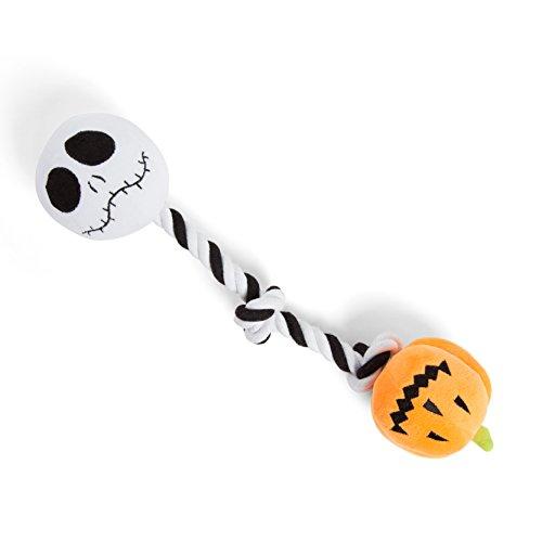 Disney Nightmare Before Christmas Pumpkin King Rope Tug Chew