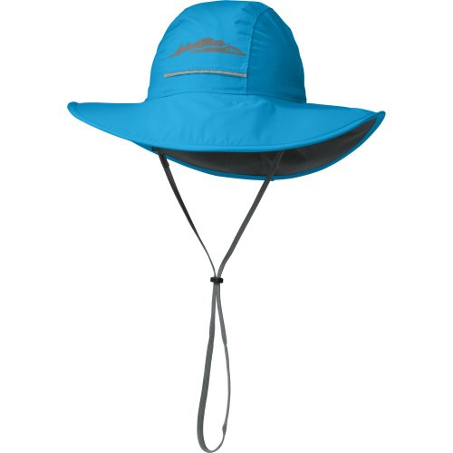 Outdoor Research Kids' Voyager Rain Hat, Hydro, Small
