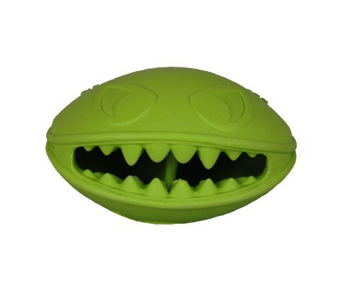 Jolly Pets Monster Mouth Dog Toy, 4-Inch by Jolly Pets (Monster Mouth)