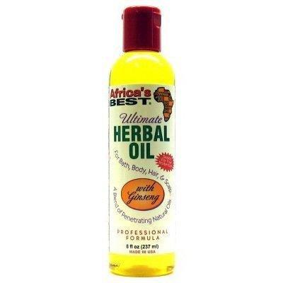 AFRICA'S BEST Ultimate Herbal Oil 8 Oz 240 ml Africa' s Best