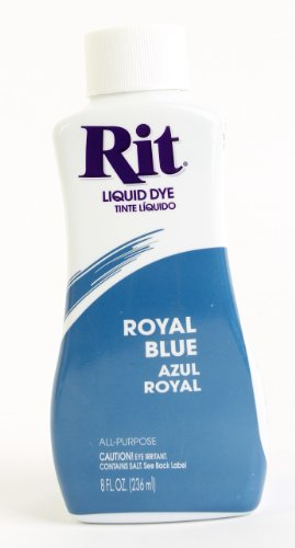 Rit Dye Liquid Dye, 8 fl oz, Royal Blue, 3-Pack by Rit Dye