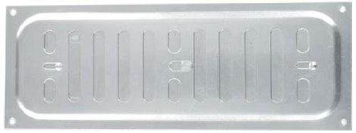 Bulk Hardware BH01693 Small Adjustable Hit and Miss Air Vent Grille, 200 x 55mm (8 inchx 2.1/8 inch) - Aluminium