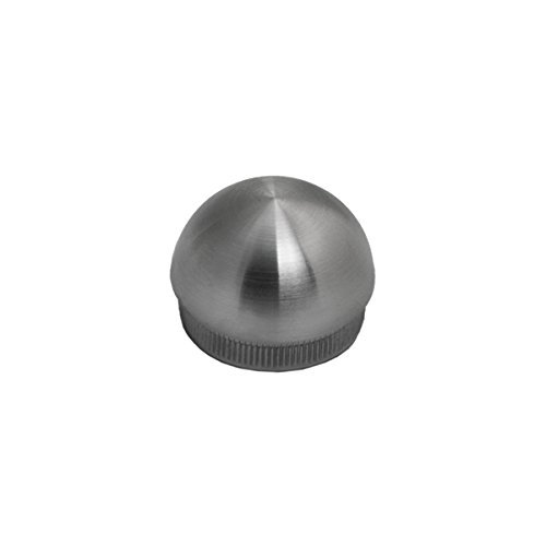Stainless Steel Round Dome Shape Hand Rail End Cap / Cover Component for our 1.5