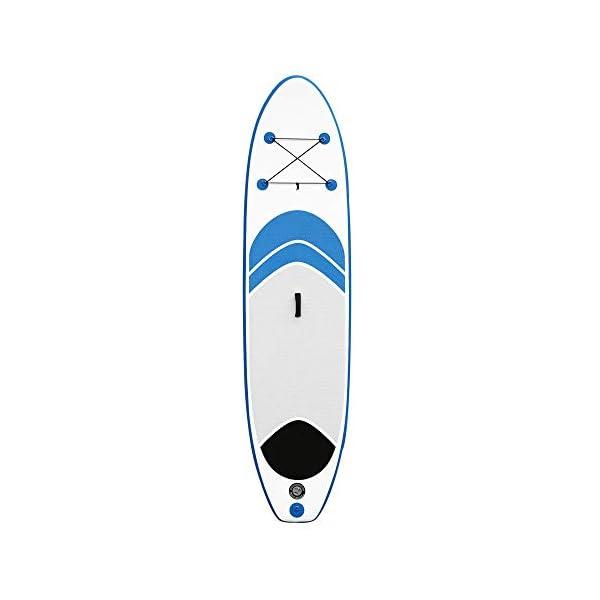 Stand Up Paddel Gonfiabile 10 stand SUP insieme del bordo conveniente in alluminio Pompa Paddle Kit di riparazione Zaino… 3 spesavip