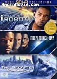 THE DAY AFTER TOMORROW / I ROBOT / INDEPENDENCE DAY