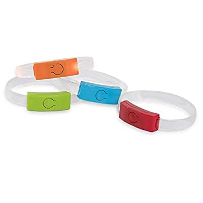 Shawshank LEDz Halloween Fun Flashers Wristbands Assorted: Toys & Games