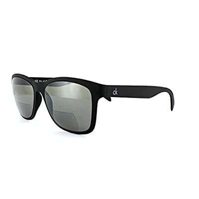 Calvin Klein Platinum CKR3171S-001-150 Black CKR3171S 1.50 Strength Bifocal Sunglasses
