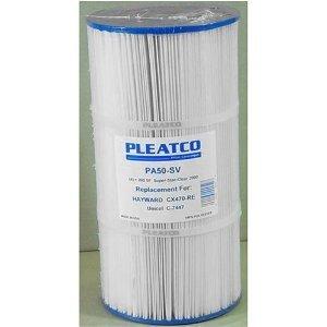 pool-filter-cartridge-pleatco-pa50sv-replaces-unicel-c-7447-filbur-fc-1235-hayward-cx-470-sta-rite-p
