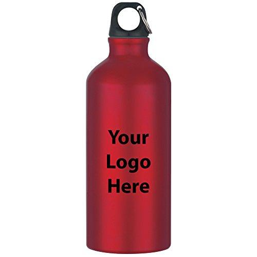 20 Oz. Aluminum Bike Bottle - 36 Quantity - $3.49 Each - Promotional Product/Bulk with Your Logo/Customized. Size: 8-1/4