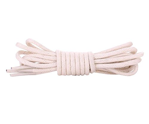 Gewachst Runde Schnürsenkel - Extra Durable - Schuhe und Stiefel Schnürsenkel 1 Paar Pack, C