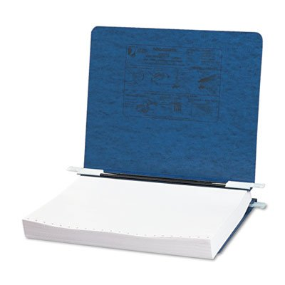 Pressboard Hanging Data Binder, 11 x 8-1/2 Unburst Sheets, Dark Blue, Total 25 EA, Sold as 1 ()