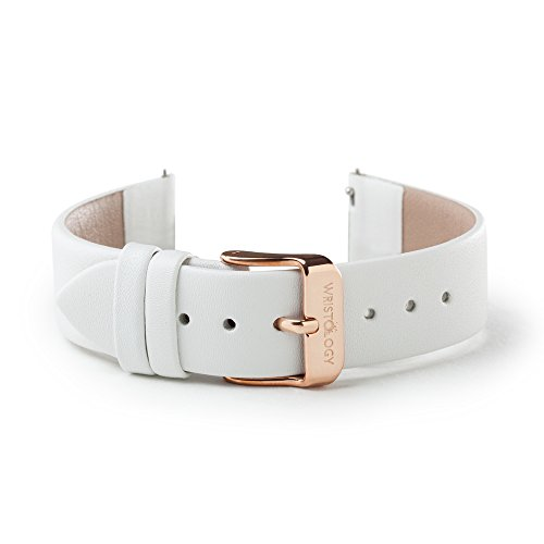 (WRISTOLOGY Rose Gold 18mm Womens Easy Interchangeable Watch Band)