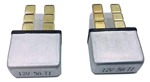 Atc Circuit Breaker - PHOTO-TOP 5A-30A, Automotive Circuit Breaker, Plug In Mounting, ATC Blade Type Terminal Connection (2 pcs)